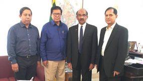 শ্রীলংকান হাইকমিশনারের সঙ্গে সম্প্রীতি বাংলাদেশ