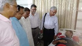 ড্যাব নেতা ডা: শাকিল হাসপাতালে ভর্তি