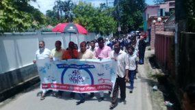ডেঙ্গু প্রতিরোধে মৌলভীবাজারে স্কুল শিক্ষার্থীদের নিয়ে পৌর মেয়রের দিনভর পরিচ্ছন্নতা অভিযান