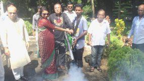 """মেয়রের প্রচেষ্টায় ডেঙ্গু মোকাবেলায় অবশেষে মৌলভীবাজারে """"ফগার মেশিন"""""""