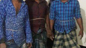 মৌলভীবাজারে সিএনজিসহ তিন ছাগল চোর আটক