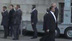 Information Minister attends Jacques Chirac's funeral