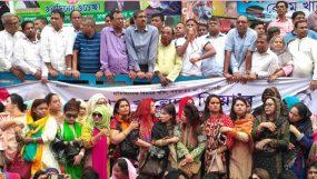 'খালেদা জিয়ার মুক্তি চাই' স্লোগানে মুখর নয়াপল্টন