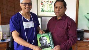 ব্যাঙ্গালোরে বৈঠক করলেন চিকিৎসা বিজ্ঞানে দুই দেশের  দুই মহারথী