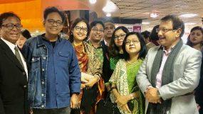 'মায়া দ্য লস্ট মাদার'দেখতে ঢাকার স্টার সিনেপ্লেক্সে কবি শিল্পীদের মিলনমেলা