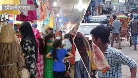 মৌলভীবাজারে রাস্তায় যানবাহন, দোকানপাট খোলা