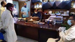 চট্টগ্রামে করোনা পরিস্থিতি নিয়ে    মেয়রের সঙ্গে হিন্দু মহাজোটের বৈঠক