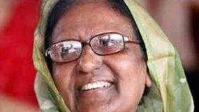 চিরবিদায় নিয়েছেন সাহারা খাতুন এমপি