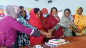 মৌলভীবাজারে প্রধানমন্ত্রীর ৭৪তম জন্মদিন পালন করেছে   মহিলা সংস্থা