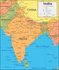 কাশ্মীরের নিয়ন্ত্রণ পাকিস্তান, ভারত ও চীন – এই তিন দেশের