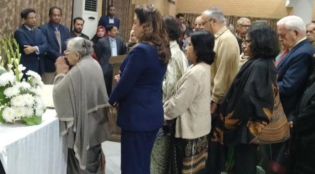 দিল্লীতে সৈয়দ মোয়াজ্জেম আলীর  প্রতি শ্রদ্ধা নিবেদন