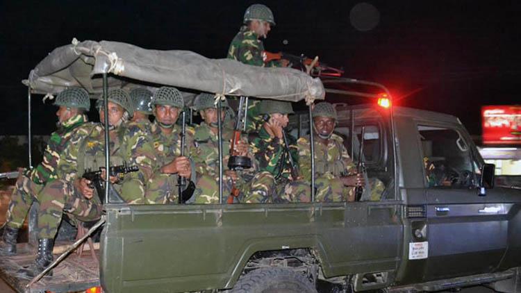 মঙ্গলবার মাঠে নামছে সেনাবাহিনী