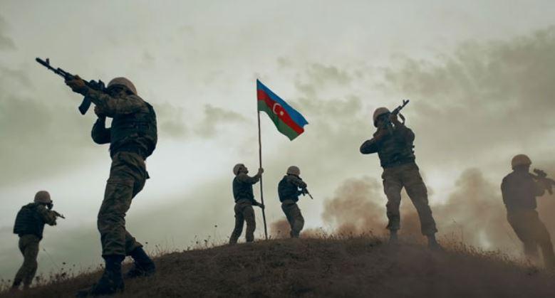 চারটি প্রদেশে পতাকা উড়াল আজারবাইজানের সেনাবাহিনী