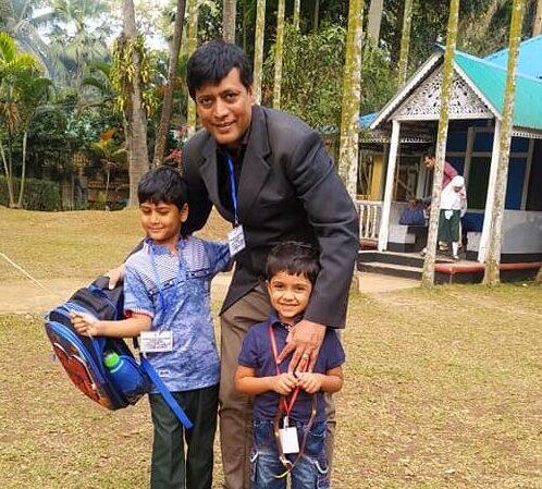 করোনাকালে সুকুমার শিল্প চর্চায় 'চাপহীন' ছোট্ট সোনামনিরা