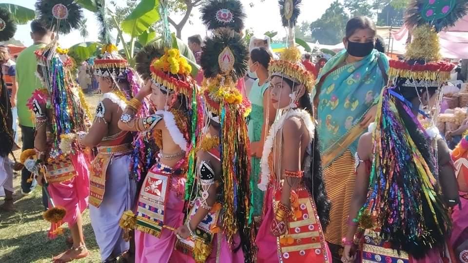 কমলগঞ্জে রাখাল নৃত্যের মধ্য দিয়ে শুরু ঐতিহ্যবাহী রাসলীলা
