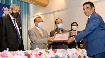 Pubali Bank awarded by Dhaka WASA