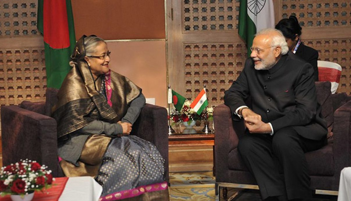 Indo-Bangla relationship : a Touch of Difference