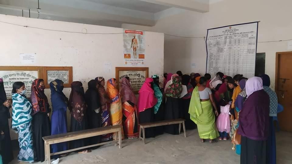 চারস্তরের নিরাপত্তা বলয়ে চলছে কমলগঞ্জ পৌরসভা নির্বাচনের ভোট গ্রহণ