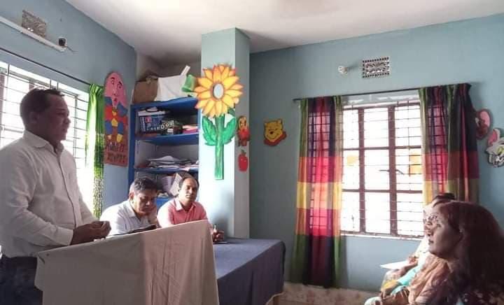ব্লুমিংসান স্কুলে শিক্ষকদের বিশেষ প্রশিক্ষণে