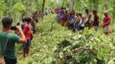 A delegation of district lawyers visited the damaged Agar and Banakhala Panpunji